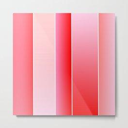Pink Color Metal Print
