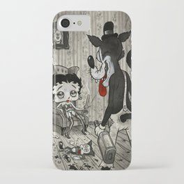 BETTY AND THE WOLF iPhone Case