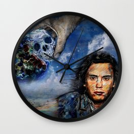 Jean-Michel Jarre 40 Years Oxygene  Wall Clock