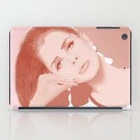 ultraviolence iPad Cases featuring LANA by Itxaso Beistegui Illustrations