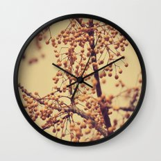 Autumn Life (III) Wall Clock