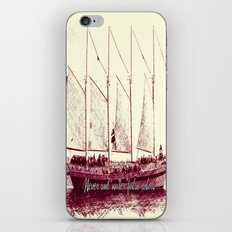 Never sail under false colors iPhone & iPod Skin