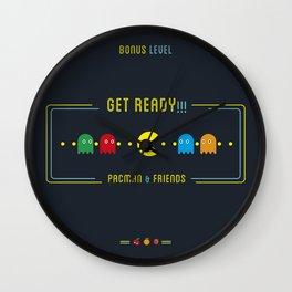 Pacman & Friends Wall Clock