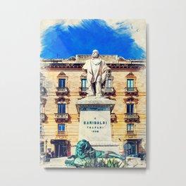 Trapani art 17 Sicily Metal Print