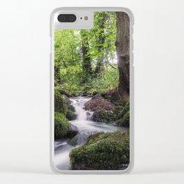 Romantic creek Clear iPhone Case