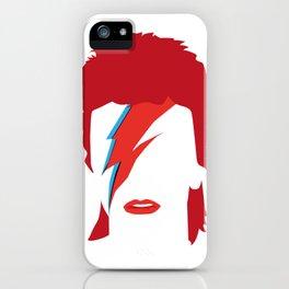 Bowie faceless iPhone Case