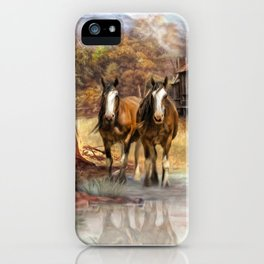 High Country Hideaway iPhone Case