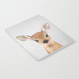 Baby Deer - Colorful Notebook