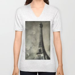 To Paris, With Love Unisex V-Neck