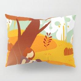 Summer Reading Girl Under Tree Pillow Sham