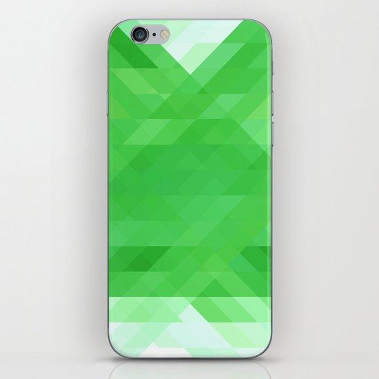 Green Geometrics iPhone & iPod Skin