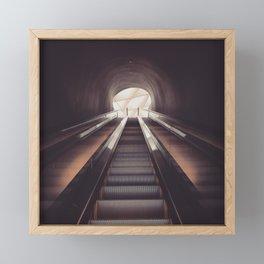 Into the Broad Framed Mini Art Print