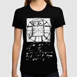 Kot da Vinci (black) T-shirt