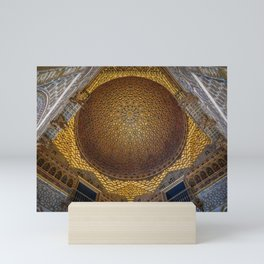 Hall of the Half Orange Dome Mini Art Print