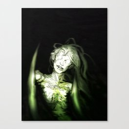 she's in the woods Canvas Print