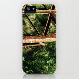 Oxide and grass iPhone Case