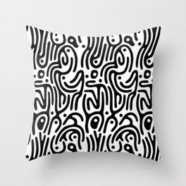 Identity Pattern Throw Pillow