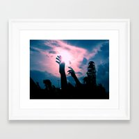 concert Framed Art Prints featuring Concert by Leah Galant