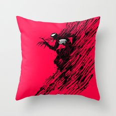 The Ink of Venom Throw Pillow