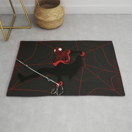 Ultimate Spider-man Miles Morales Rug