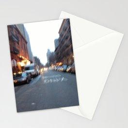 Street Blur Stationery Cards