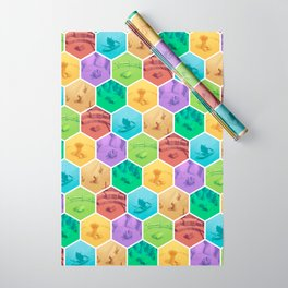 The Resource Conquest - 3D Wrapping Paper