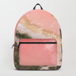 iOS 11 Rose Gold iPad background Backpack