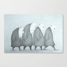 Grey Day (Grey Version)  Canvas Print