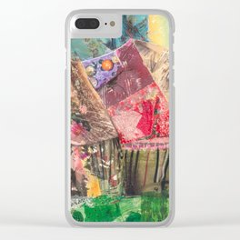Campsite Clear iPhone Case