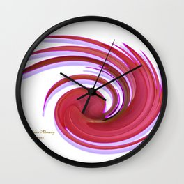The whirl of life, W1.2A Wall Clock