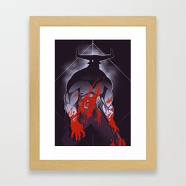 Companion Fears - Madness Framed Art Print
