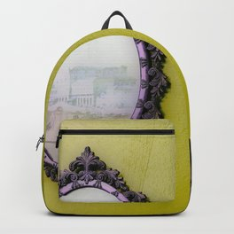 Mirror Mirror on the Wall Mustard Backpack