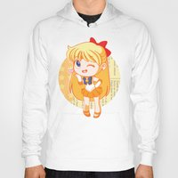 sailor venus Hoodies featuring Sailor Venus by strawberryquiche
