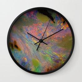 Australian opal From Winton Wall Clock