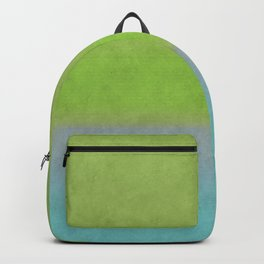 Green greenery greenish Backpack