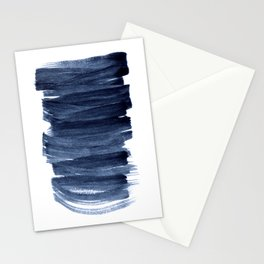 Just Indigo 3 | Minimalist Watercolor Abstract Stationery Cards