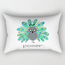 Poser Rectangular Pillow