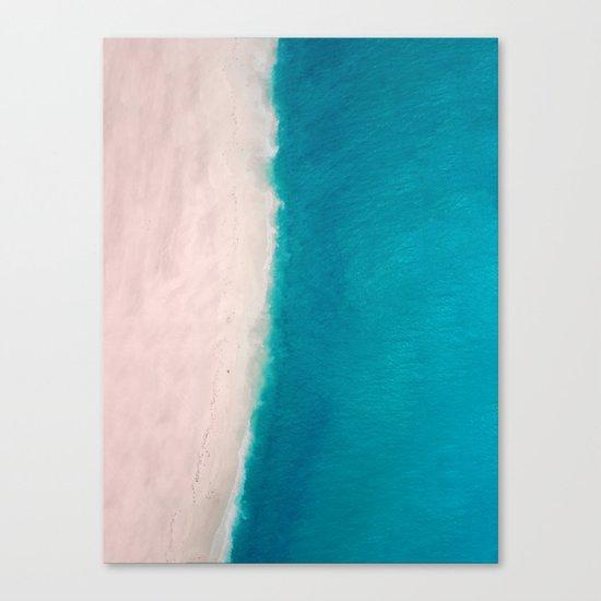 Beach + Sea Canvas Print