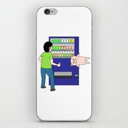 Pig in a vending machine iPhone Skin