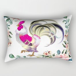 Decorate your home or office with one of our Rooster Gifts Rectangular Pillow