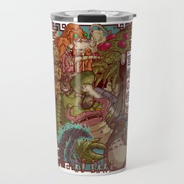 Monsters of the King Travel Mug