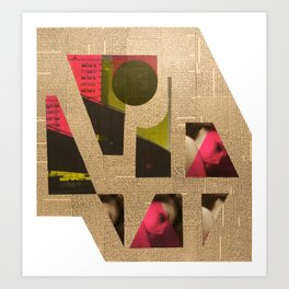 Edgware Flyover Art Print