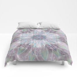 Lavender swirl pattern Comforters