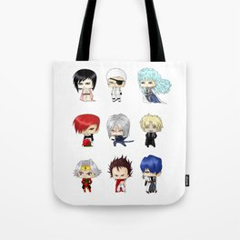 Chibi Psychopaths Tote Bag