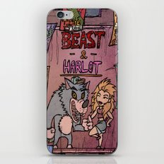 Beast and Harlot iPhone & iPod Skin