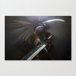 Facing Your Hero Canvas Print
