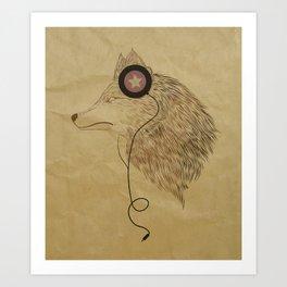 Woolfymusic Art Print