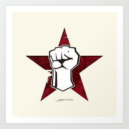 Rage Against The Machine Art Print