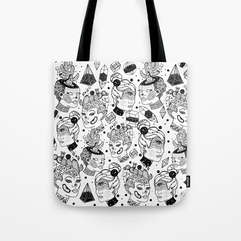 Las Chulas Tote Bag By Suagape Society6
