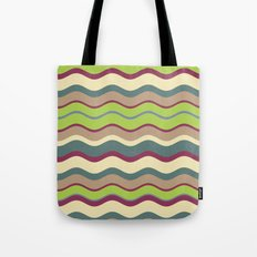 Appley Wave Tote Bag